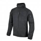 Bluza Helikon Alpha Tactical HOODIE Grid Fleece - Czarna