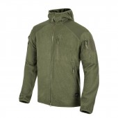 Bluza Helikon Alpha Tactical HOODIE Grid Fleece Olive Green