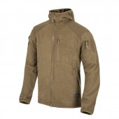 Bluza Helikon Alpha Tactical HOODIE Grid Fleece - Coyote