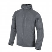 Bluza Helikon Alpha Tactical HOODIE Grid Fleece - Shadow Grey
