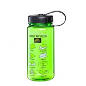 Butelka Helikon Tritan Bottle  Wide Mouth - 550 ml Zielona