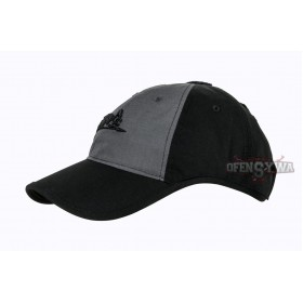 Czapka Baseball Logo Cap - Ripstop - Black / Shadow Grey