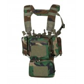 Kamizelka Training Mini Rig Helikon - Woodland US