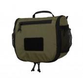 Kosmetyczka Travel Toiletry Bag Olive / Czarna