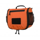 Kosmetyczka Travel Toiletry Bag - Pomarańczowa / Czarna
