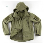 Kurtka Helikon Windblocker Gunfighter olive green