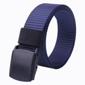 Pas uniwersalny do spodni -nylon 3,8cm - Navy Blue