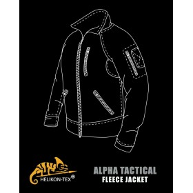 Bluza ALPHA TACTICAL Grid Fleece- Coyote