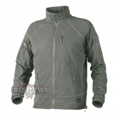 Bluza ALPHA TACTICAL Grid Fleece- Foliage Green