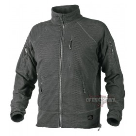 Bluza ALPHA TACTICAL Grid Fleece-Shadow Grey (odcień szarego)