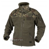 Bluza polarowa INFANTRY - Fleece - Olive Green/ Pantera PL