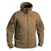 Polar Patriot Helikon Fleece Jacket- Coyote 390 g