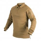 Koszula taktyczna Helikon Polo RANGE - Coyote