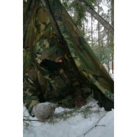 Poncho, peleryna Rip-Stop Helikon  woodland US