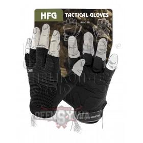 Rękawice bezpalcowe HFG czarny