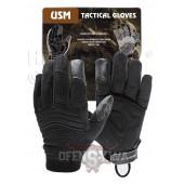 Rękawice taktyczne USM czarny