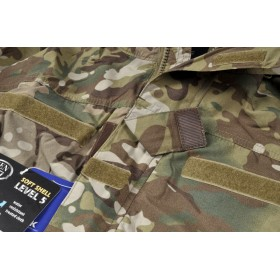 KURTKA SOFT SHELL Level V CamoGrom (MultiCam)