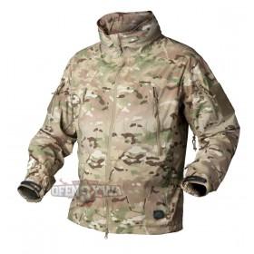 Kurtka Helikon SoftShell Jacket Trooper CamoGrom