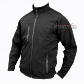 Kurtka SoftShel windstopper Jacket - czarny