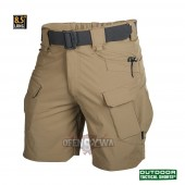 "Spodnie krótkie OUTDOOR TACTICAL SHORTS 8.5"" - Nylon -  Mud Brown M"
