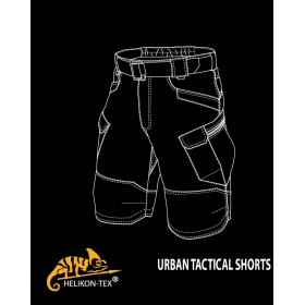 Spodnie krótkie UTK Urban Tactical Pants RipStop - Adaptive Green 11""