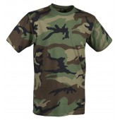 T-shirt Helikon US woodland