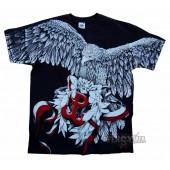T-shirt z nadrukiem patriotycznym 316 Cichociemnych Bohaterów