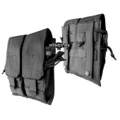 Podwójna ładownica  M4/M16/AK74 czarny