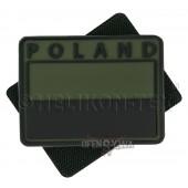 Flagi PL kpl.2 szt.PVC Poland oliv green